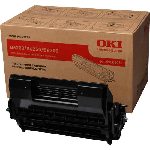 OKI Toner B6200/6300 single unit @ ISO cartridge
