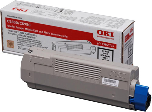 OKI Toner-C5850/5950/MC560-Black