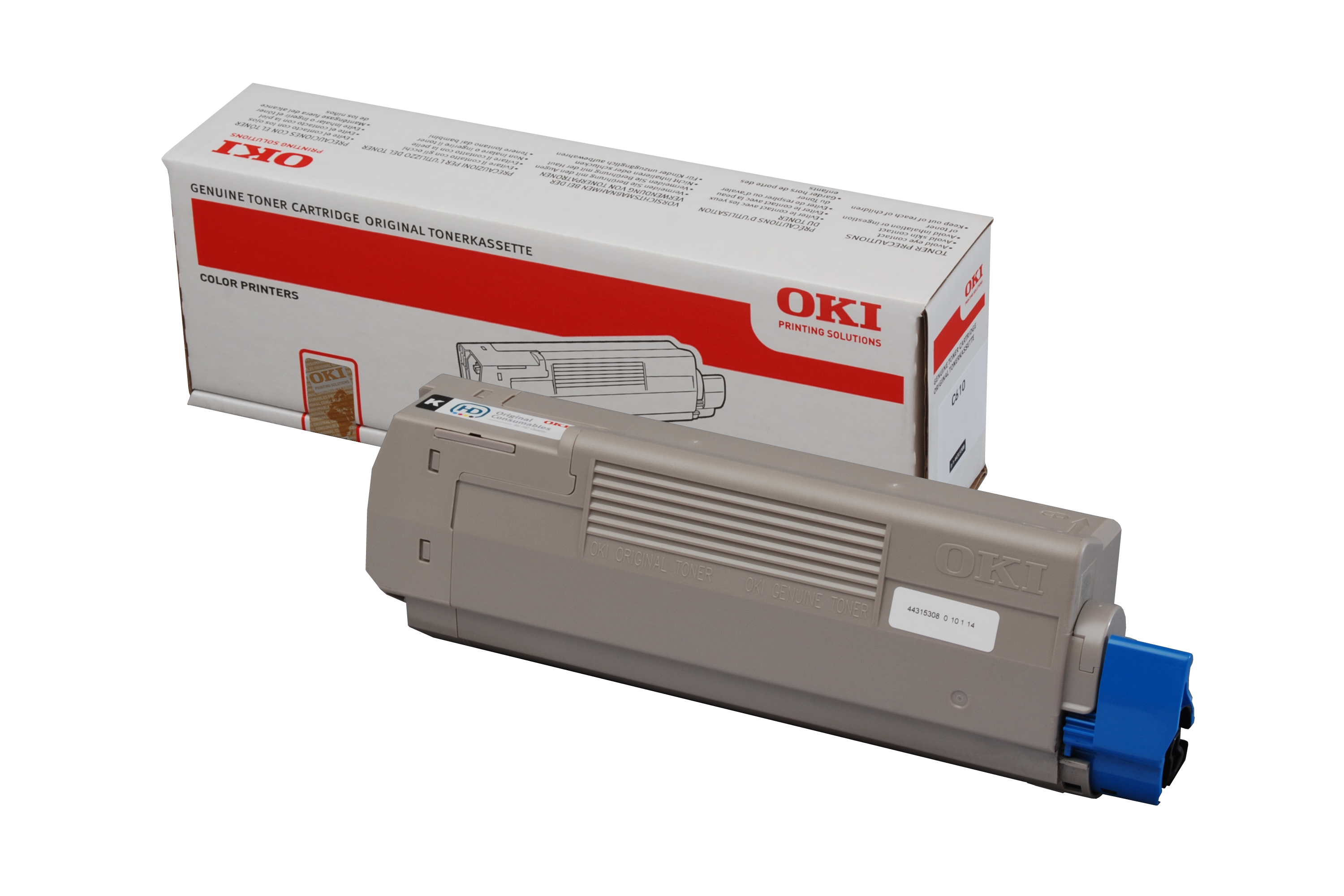 OKI Toner-C610/C610DM-Black
