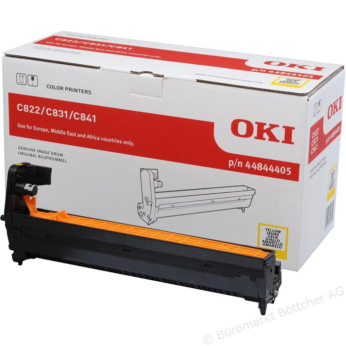OKI Image Drum EP-CART-C822/C831/C841/C831DM-Yellow