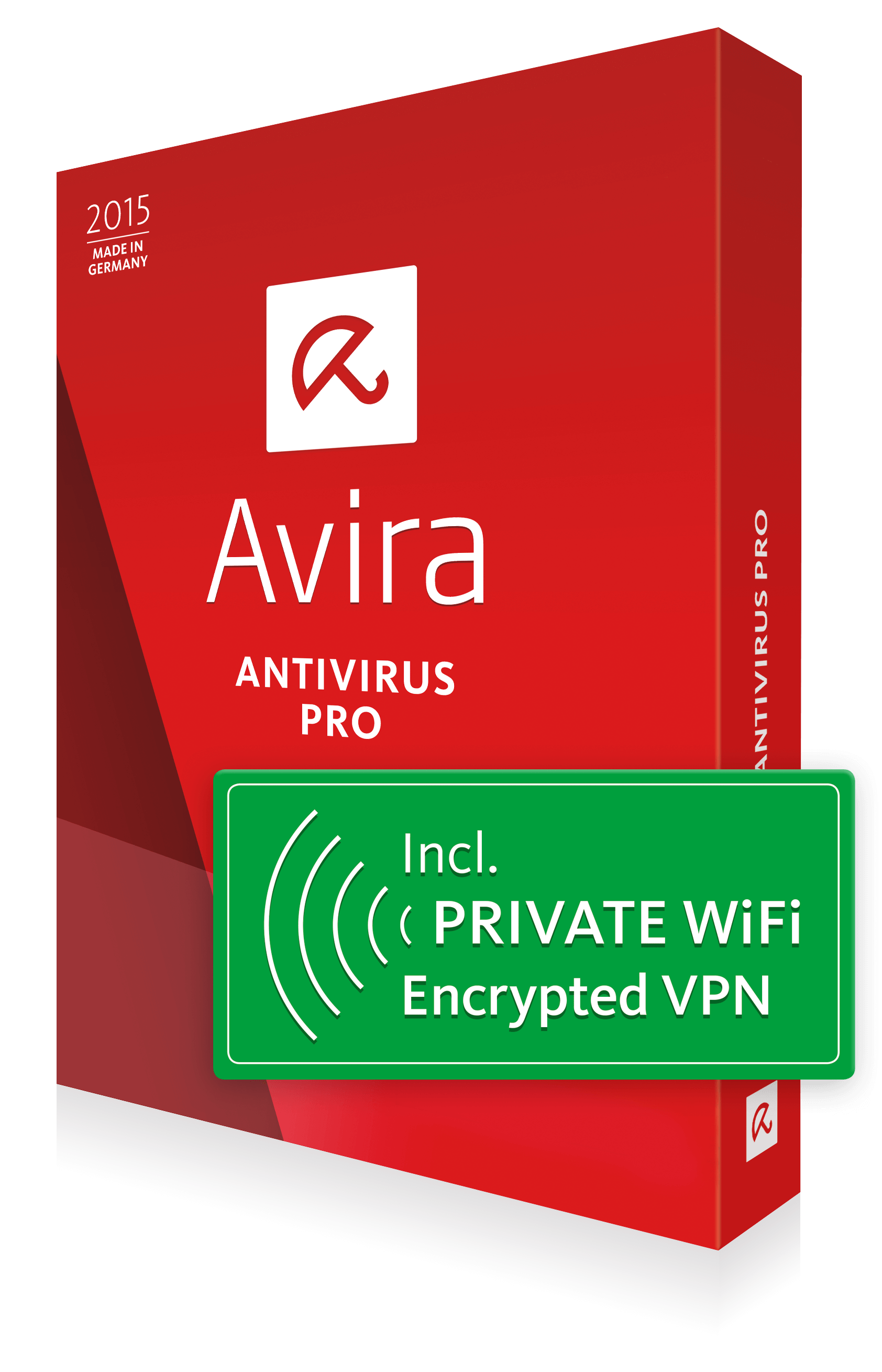 Avira Antivirus Pro + PRIVATE WiFi Encrypted VPN