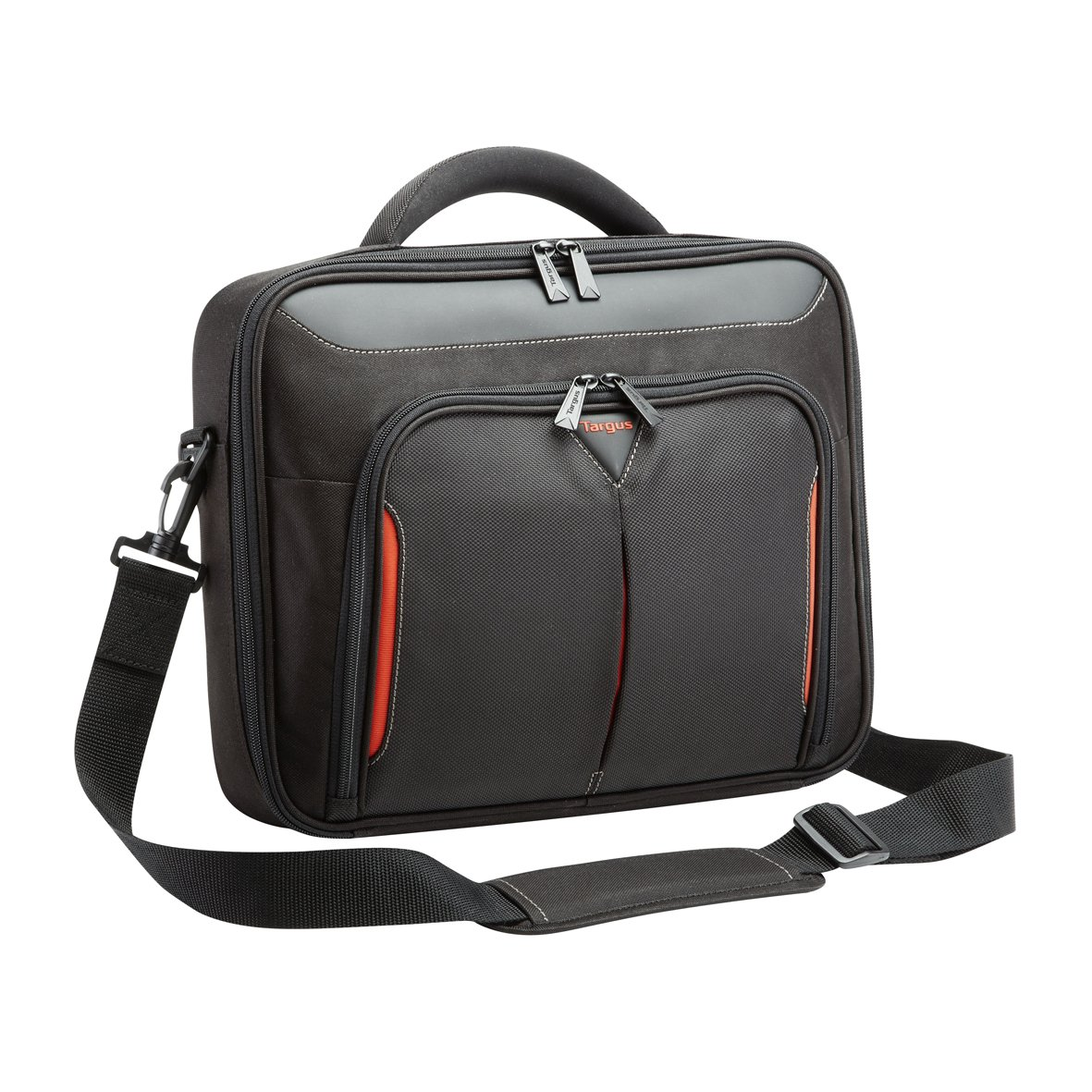 "Targus Classic 10-12.1"" Clamshell Case - Black/Red"