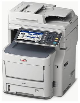 OKI MC760dnvfax (additional tray and LCF)
