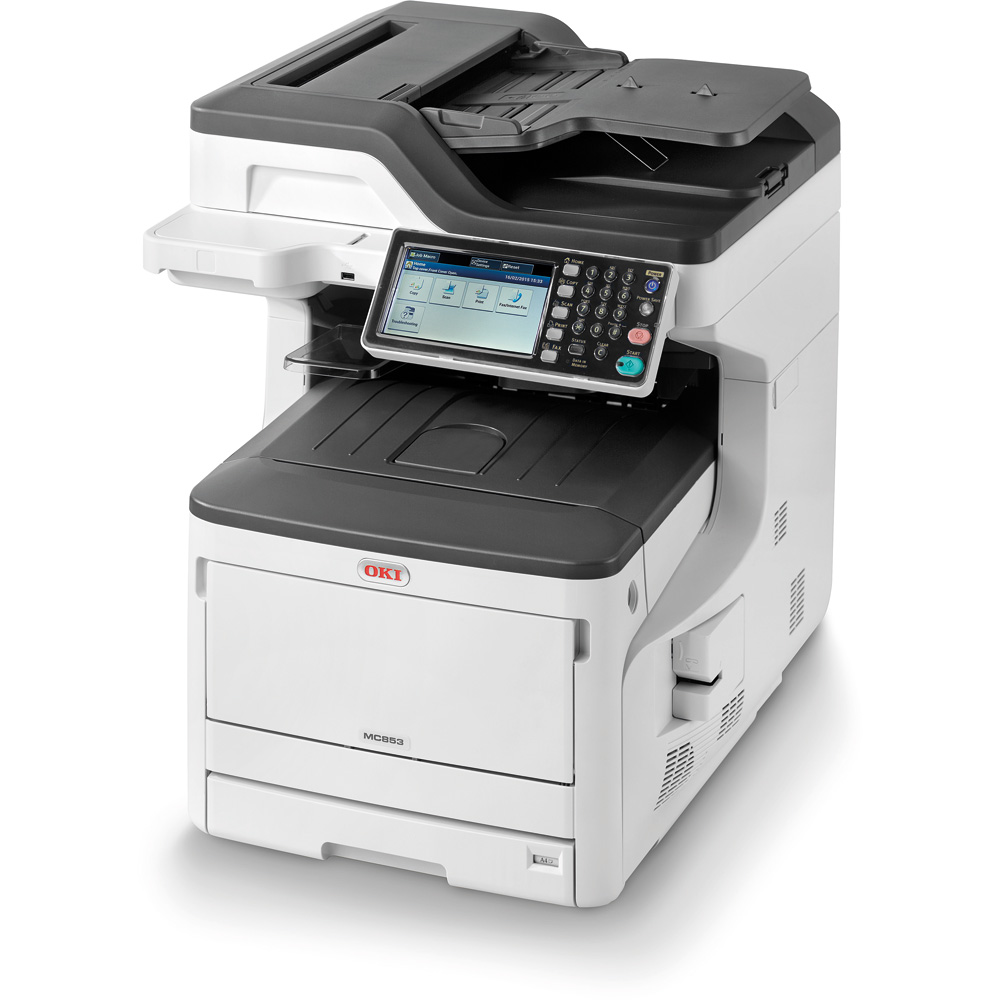 A3/A4 Oki SWG Colour MFP MC873dn