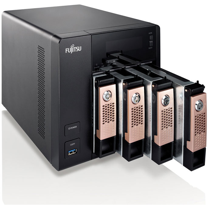 CELVIN® NAS Server Q800 4 trays  4x1TB